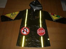 全新~幼童兒童雨衣,防風寒衣*加厚款,台灣製,正反面有反光,更安全可換物:景美公館