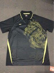 桌球孤鷹~桌球衣~正品紅雙喜選手比賽服~(黑色)~特價優惠!