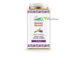 泰國 Snake Brand 蛇牌薰衣草香爽身粉 Cooling Powder - Lavender 140g