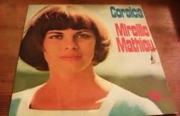 法國帶回絕版古董黑膠唱片經典歌手日本超有名 Mireille Mathieu-Dieu te garde 保存完整,有當場試聽,值得收藏