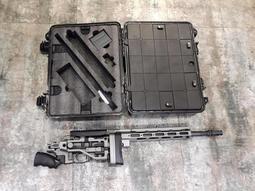 【我愛杰丹田】ARES MSR303 可快速分解收納 附專用槍箱 手拉空氣狙擊槍 鐵灰色 生存遊戲