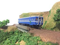 台鐵DR2100~2400型支線柴油客車(藍寶寶)-單節有動力-預約製作4月底到貨