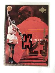 "1998 UPPER DECK NBA  ""Michael Jordan""  空中飛人 喬丹  球員卡"