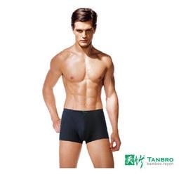 男內褲(平口褲) 3D立體平口褲M-3L 量販五入 立體加強 薄版鬆緊織帶 二代經典款 [TANBRO天竹]