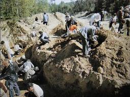 捷克隕石開挖地質照片參考