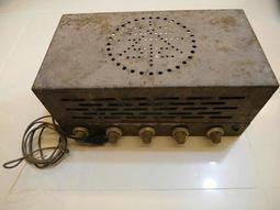 古董 真空管收音機  家飾 (不確定是否可用) 高雄可面交