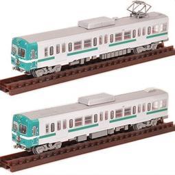 日版盒玩 1/150 N規  TOMYTEC  鐵道模型  第21彈 圖一兩款合售:7+8 岳南電車