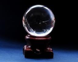《※精品水晶※》清透藍針白水晶球 B190601 鈦晶 碧璽 天珠 舒俱徠 晶球 晶柱 紫晶洞 骨幹水晶 龍宮舍利