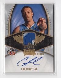2008-09 Fleer #125 Courtney Lee 186/399 簽名卡 球衣卡 NBA
