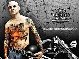 獨家販售Original Tattoo Wear澳洲原創紋身衣著 哈雷 角頭 艋舺 半甲 全甲-另有防曬紋身袖套刺青袖套