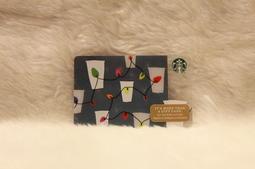 美國 星巴克 STARBUCKS 2017 咖啡杯聖誕燈 隨行卡 儲值卡 星巴克卡 卡片 限量 收藏