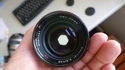 CONTAX SONNAR T* 135mm F2.8 MMJ 蔡司 CY