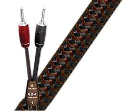 視紀音響 AudioQuest 美國 GO-4 喇叭線 3米 DBS PSC+ 表層銅 500 Series 喇叭接頭