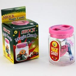 BO雜貨【SV9663】創意電人玩具 整人玩具 電人糖果罐 嚇一跳 觸電糖果罐 惡作劇玩具 整人糖果罐75g