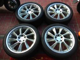 賓士BENZ 正廠Lorinser LM-6 19吋鋁圈輪圈W140 W220 R129 SL SLK CLS CLA