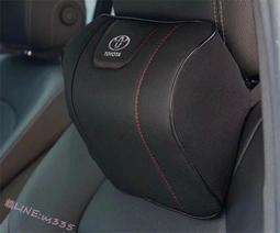 Toyota豐田凱美瑞銳誌漢蘭達RAV4卡羅拉雷淩汽車頭枕護頸枕頭車用腰靠枕