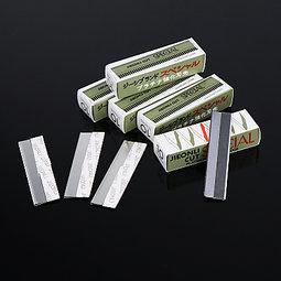 修眉刀片不銹鋼單面刀片美妝化妝品工具刮眉刀刮鬍刀剃刀刀片白金刀片 AA-004