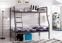 【逸雅傢俱】【現貨在臺】公寓子母床簡約現代鐵藝床學生上下舖鐵床員工宿舍雙層鐵床