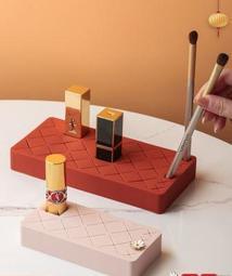 ForMe;口紅乳液終於有地方排排站!矽膠口紅收納盒 8格16格展示架梳妝台唇膏整理收納盒 彩妝品收納箱飾品盒