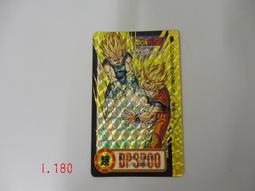 【C】日本原裝 七龍珠 萬變卡 遊戲閃卡 正版