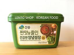 LENTO SHOP - 韓國 新松 SINGSONG 包飯醬 沾醬 蔬菜醬 豆瓣醬 黃醬 500g