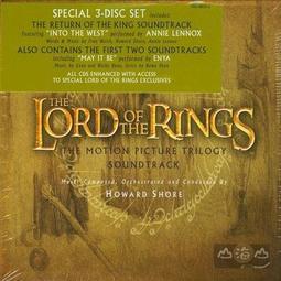 【進口版】魔戒1~3集 The Lord of The Rings 3CD / 霍華蕭-9362486332