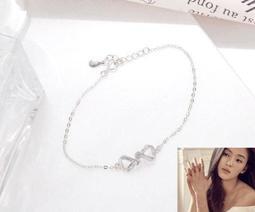 全智賢 永恆愛願手環♥銀1入 尺寸 鍊最長約17cm (可調)