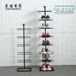限時優惠8折 鐵藝鞋架多層簡易家用省空間經濟型現代簡約迷你宿舍收納小鞋櫃子