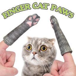 美國玩具品牌 Archie McPhee 趣味貓掌指套 Finger Cat Paws 節日禮物|派對遊戲|拍照道具