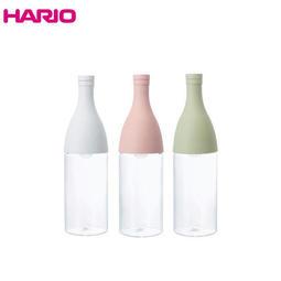 HARIO香檳造型耐熱玻璃冷泡瓶(三色任選) 公司貨 800ml