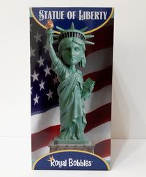 STATUE OF LIBERTY Royal Bobbles 自由女神 搖頭公仔