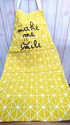 北歐風清新款 棉質 居家 烘焙 園藝 繪畫 工作圍裙