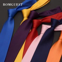 男士純色領帶韓版窄6cm正裝商務8cm---承蒙厚愛