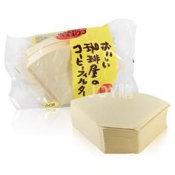 【日本 三洋】無漂白咖啡濾紙 100 張101 102  (1-2人份/3-5人份)