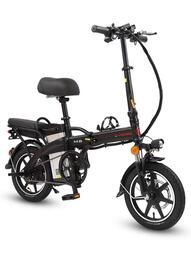 折疊電動自行車迷妳小型代駕代步電動車鋰電池電瓶助力車