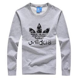 Adidas 愛迪達 長袖 情侶款素T 長袖上衣 打底衫 大尺碼t恤 愛迪達衣服 圓領長T恤