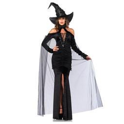 現貨尾牙服裝成人女巫白雪公主裙巫婆cosplay裝飾扮演出吸血鬼套裝