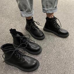 短靴子   女薄款透氣     夏季新款   英倫風    春秋瘦瘦單靴     潮馬丁靴