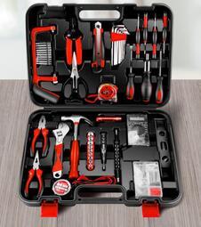 工具箱套裝家用多功能家庭車載日常電工專用五金工具大全萬能全套