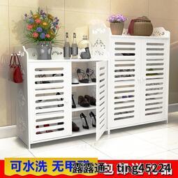 鞋櫃 簡易鞋架子家用經濟型宿舍門口必備收納神器多層拖鞋防塵小鞋柜