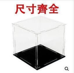 快速出貨 可定制透明壓克力展示盒動漫手辦高樂積木911收納模型盒【小桂雜貨鋪】