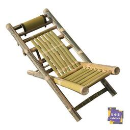 快速出貨限時優惠--竹躺椅 楠竹躺椅竹椅子老人靠背椅單人折疊椅子竹制家具午休涼椅陽臺躺椅T 2色【桂】